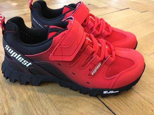 Radsport Suplest Offroad Vibram  MTB Schuhe Größe 37 Fahrradschuhe & Überschuhe