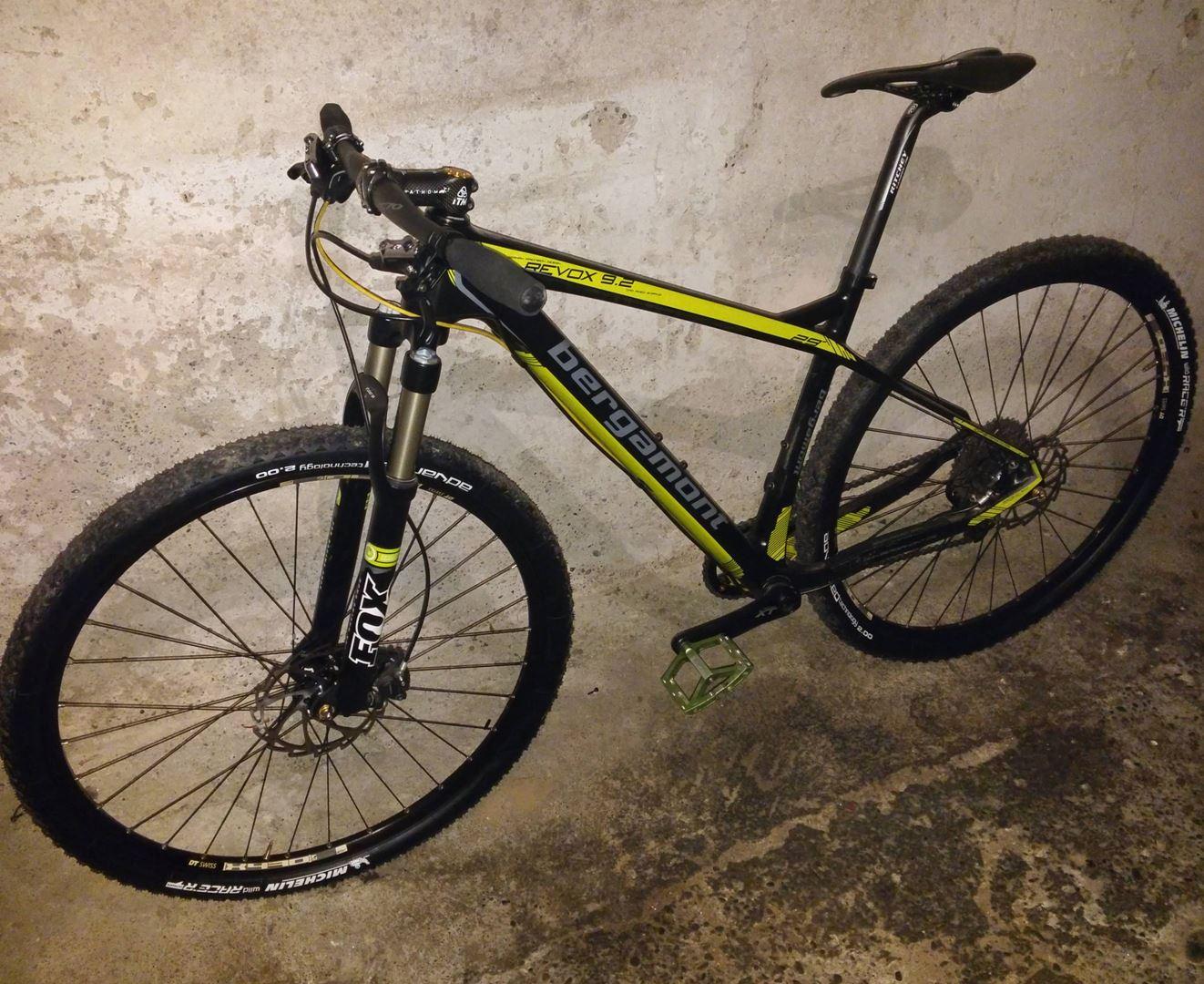 bergamont revox 9 2 hardtail carbon mtb rahmen 29 bike. Black Bedroom Furniture Sets. Home Design Ideas